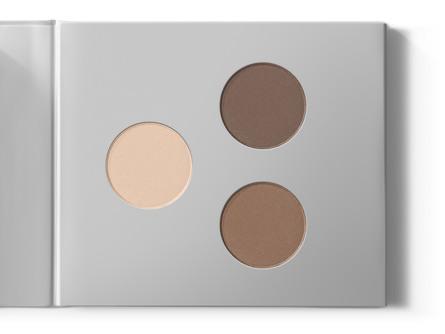 MIILD Natural Mineral Eyeshadow & Eyebrow Kit 02 Dark Stone