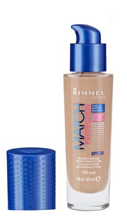 Rimmel Match Perfect Foundation 100 Ivory