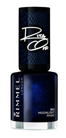 Rimmel Negle 60sec Rita 60 shades of Black 902 Moonlight Magic