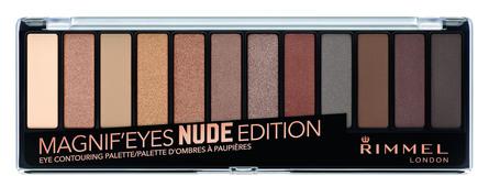 Rimmel Magnif'eyes Eyeshadow Palette 001 Nude Edition