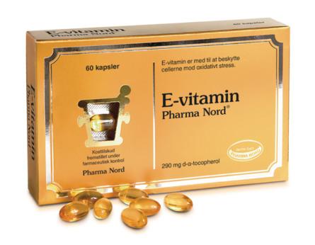 Pharma Nord Bio E-vitamin 290 mg 60 kaps