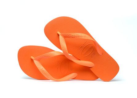Havaianas TOP - PVC FREE Klipklapper, Begonia Orange str 37/38 (EU) (str 35/36 BR)