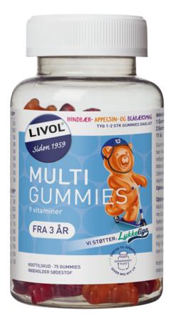 Livol Vitaminbjørne Original 75 stk.