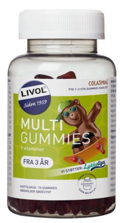 Livol Vitaminbjørne Cola 75 stk.