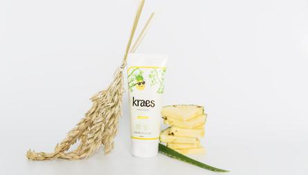 Kraes Rene totter med ananas 200 ml