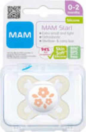 MAM Start 0-2m Silk sut Pink 1 stk