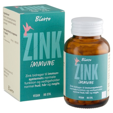 Biorto Zink Immune 90 kaps