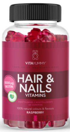 VitaYummy Hair & Nails 60 stk.
