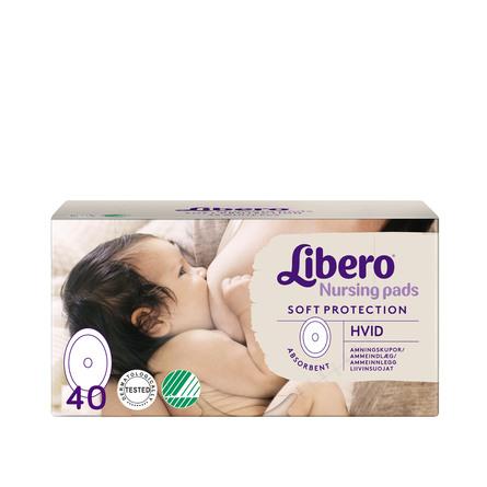 Libero Ammeindlæg Hvide 40 stk