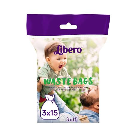 Libero Waste Bags (3 x 15)