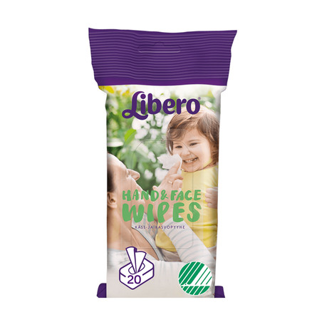 Libero Baby Hand&Face Wipes 20 stk.