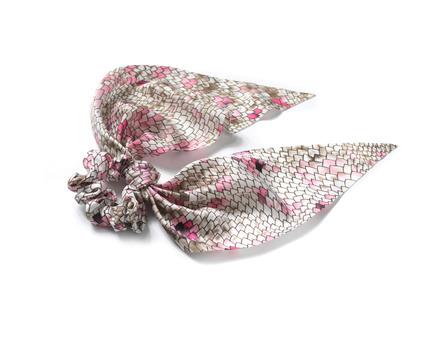 Ronald Hårelastik Tørklæde Rosaprint
