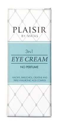 Plaisir 3 in 1 eye cream 15 ml