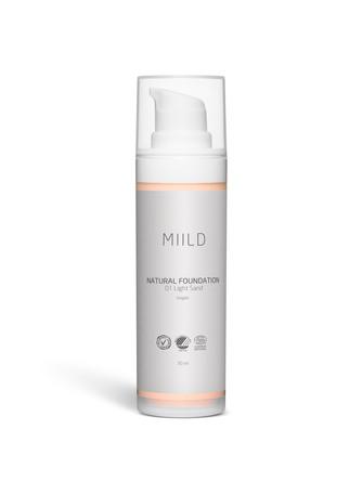 MIILD Natural Foundation 01 Light Sand