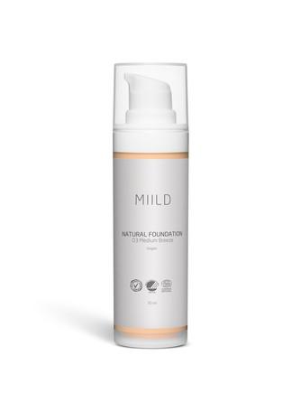 MIILD Natural Foundation 03 Medium Breeze
