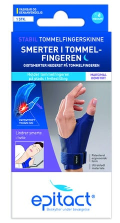 Epitact Stabil Tommelfingerskinne Højre str M