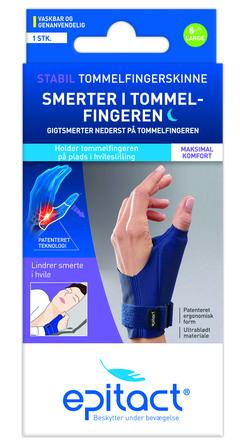 Epitact Stabil Tommelfingerskinne Venstre Str L