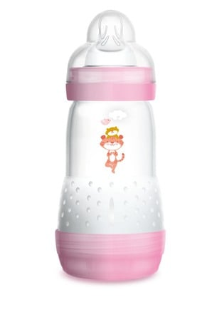 MAM Easy Start Anti-Colic sutteflaske Pink 1 stk/260ml