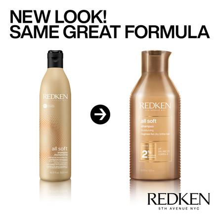 Redken All Soft Shampoo 500 ml