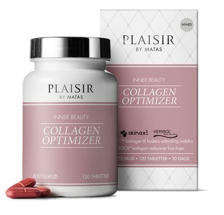 Plaisir Inner Beauty Collagen Optimizer 120 tabletter