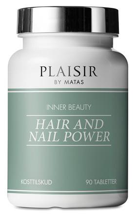 Plaisir Inner Beauty Hair and Nail Power 90 tabletter