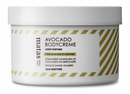 Matas Striber Avocado Bodycreme Uden Parfume 250 ml