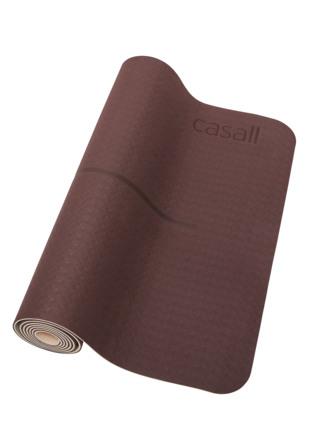Casall Yogamåtte 352 Mahogany Red/Beige