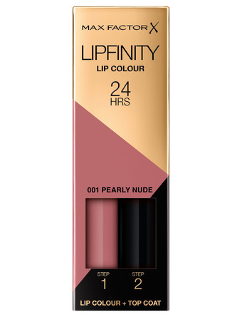 Max Factor Lipfinity 001 Pearly Nude