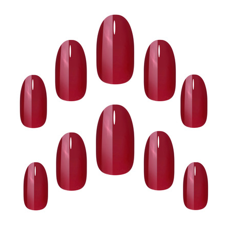 Elegant Touch Colour Nails Ruby Red