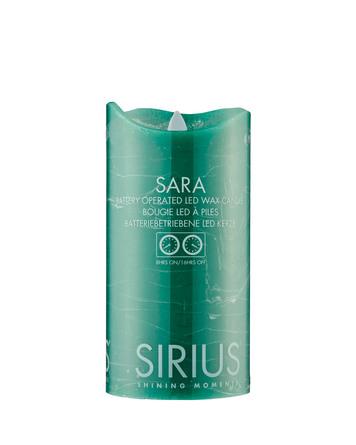Sirius Sara bloklys Grøn Ø7,5xH15cm