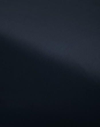 Essenza Satin Fitted Sheet Nightblue 90 x 200