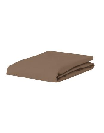 Essenza Satin Fitted Sheet Cafe Noir 90 x 200