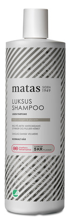 Matas Striber Special Edition Luksus Shampoo Uden Parfume 1000 ml