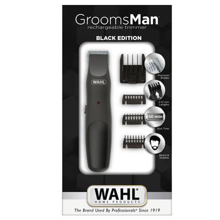 Wahl Skæg og Bodytrimmer Groomsman Black Edition