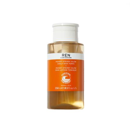 REN Clean Skincare Radiance Ready Steady Glow Daily Aha Tonic 250 ml