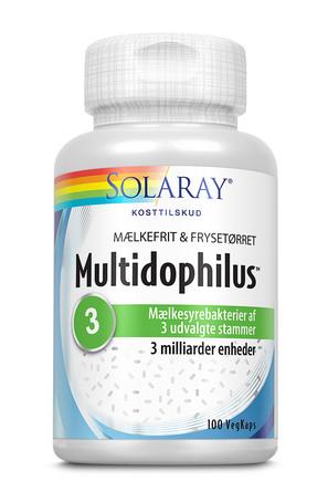 Solaray Multidophilus mælkefri 100 kapsler
