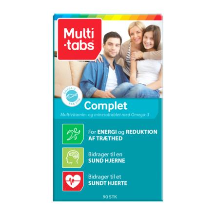 Multi-tabs Complet 90 kaps