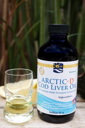Nordic Naturals Torskelevertran + D citrus