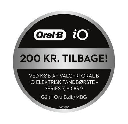 Oral-B iO Series 8s El-tandbørste Sort