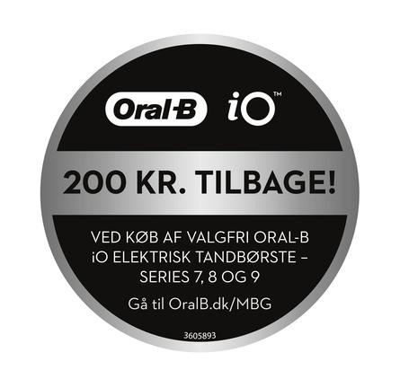 Oral-B iO Series 9s El-tandbørste Sort