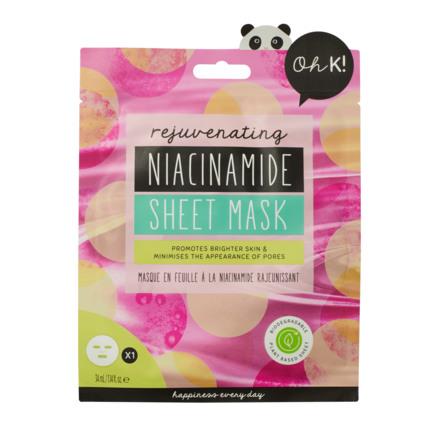 Oh K! Rejuvenating Niacinamide Sheet Mask 34 g
