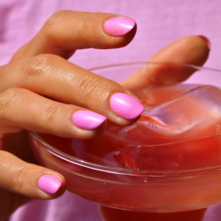 Le mini macaron Single Gel Polish Bubblegum Crush