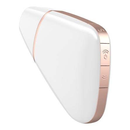 Satisfyer Love Triangle Lufttryksvibrator White