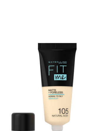Maybelline Fit Me Matte & Poreless Foundation 105 Natural Ivory