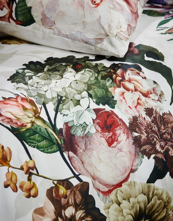 Essenza Fleur Sengetøj Hvid 140 x 200 cm