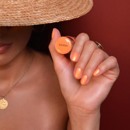 Le mini macaron Single Gel Polish Sun Beam