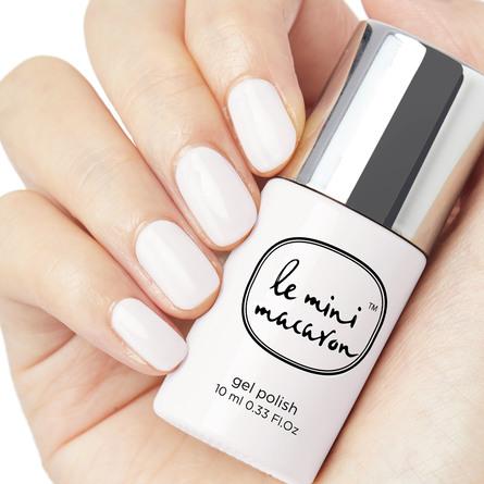 Le mini macaron Gel Manicure Kit Milkshake