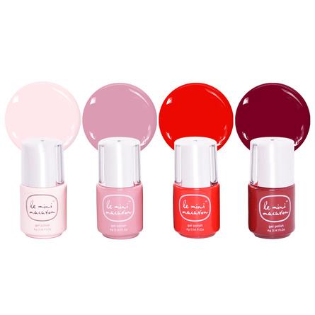 Le mini macaron Gel Manicure Kit Rouge & Moi (Limited Edition)