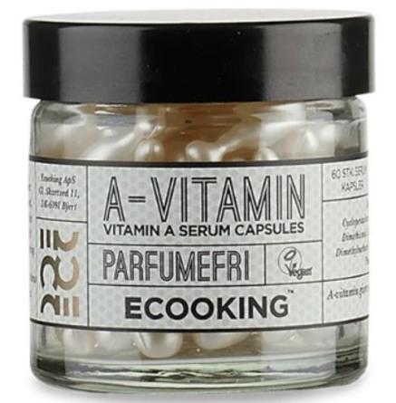 Ecooking A-vitamin Kapsler 60 stk.