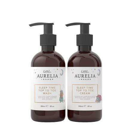 Aurelia Sleep Time Top to Toe Wash and Cream Duo